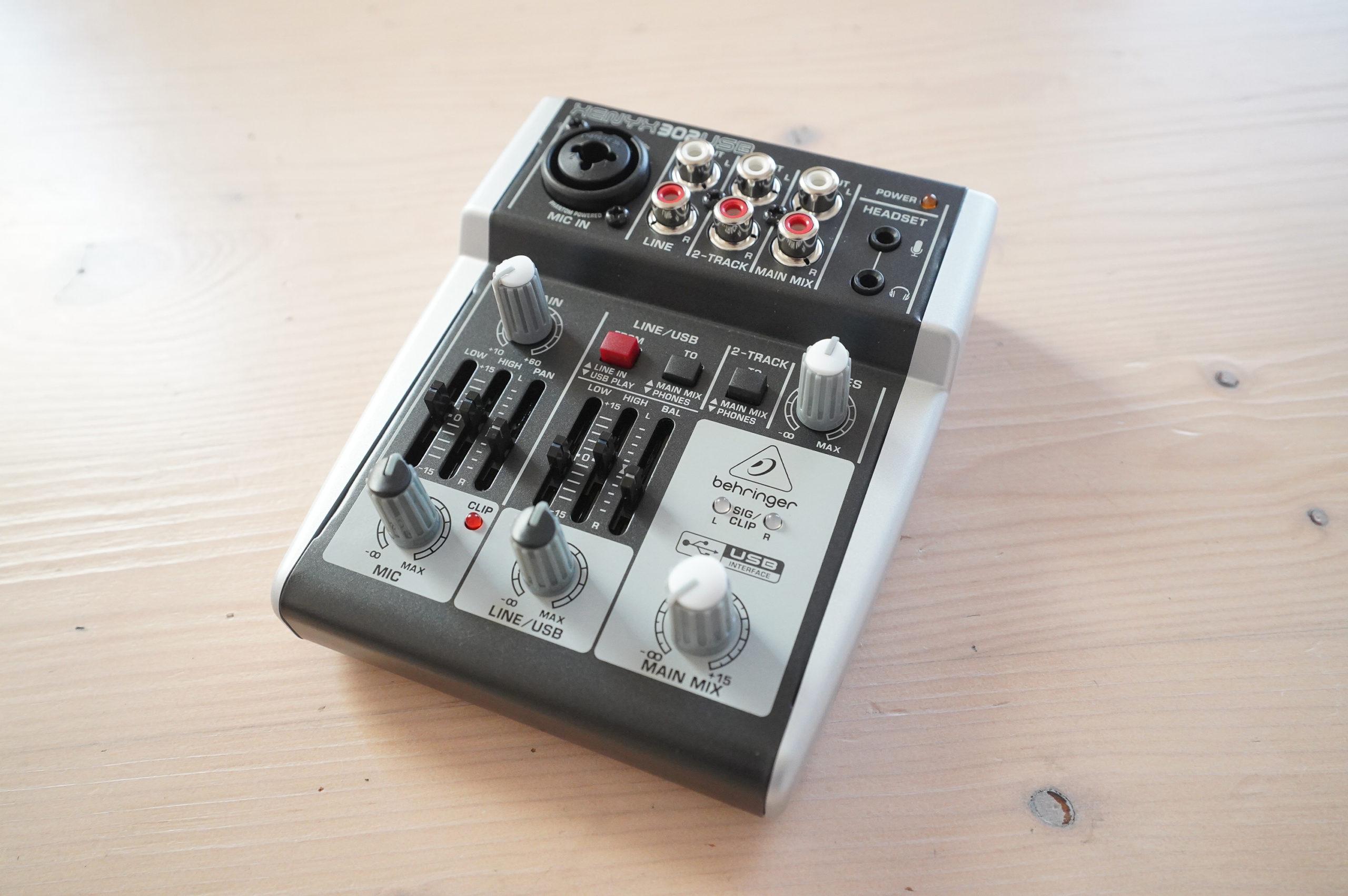 【XENYX 302USBレビュー】PS4・PS5で簡単に高音質でボイスチャットできるオーディオインターフェース