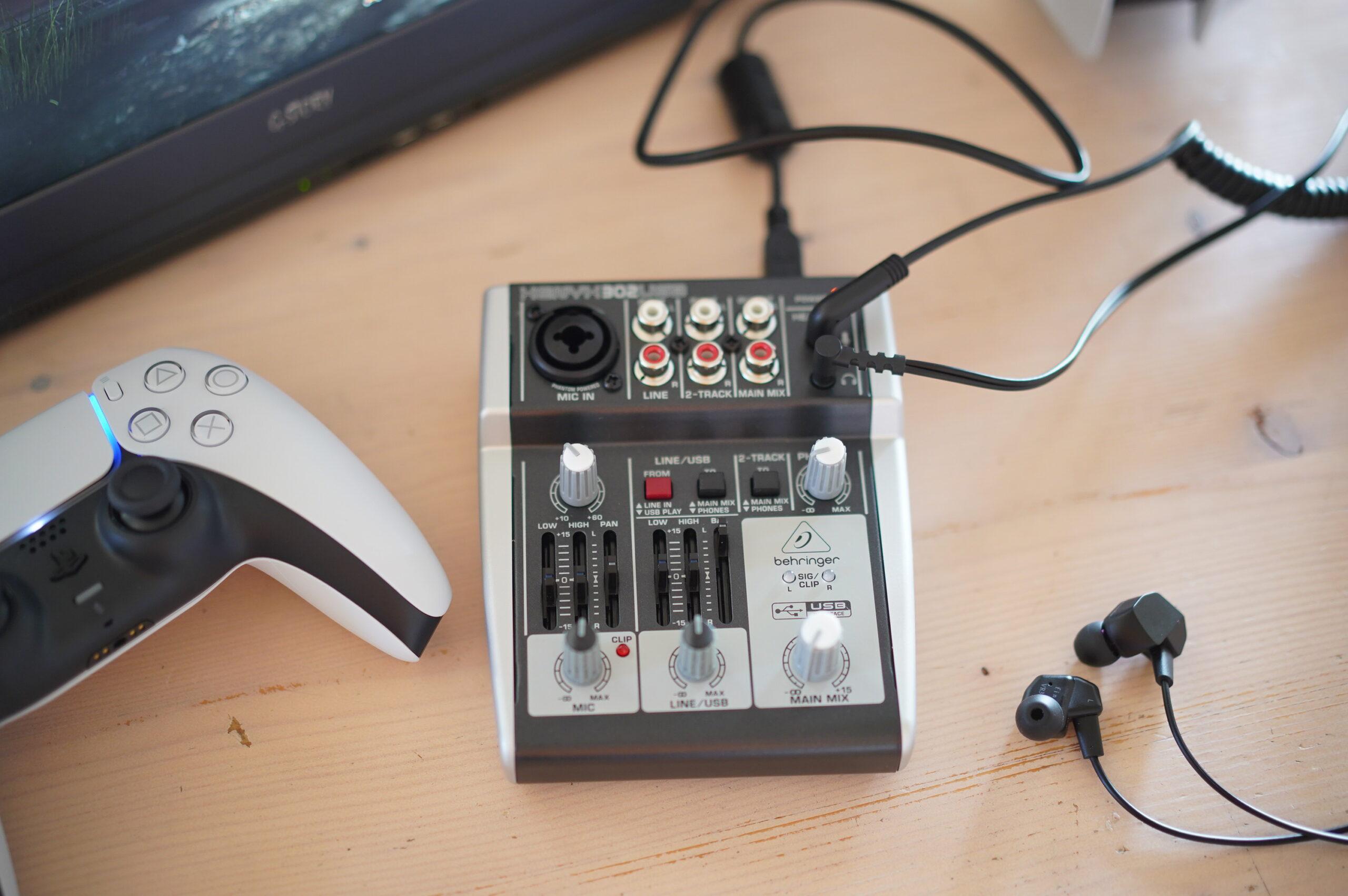 PS5で高音質ボイスチャットがしたい!PS4・Switchでも使えるオーディオインターフェースとUSB DAC5選