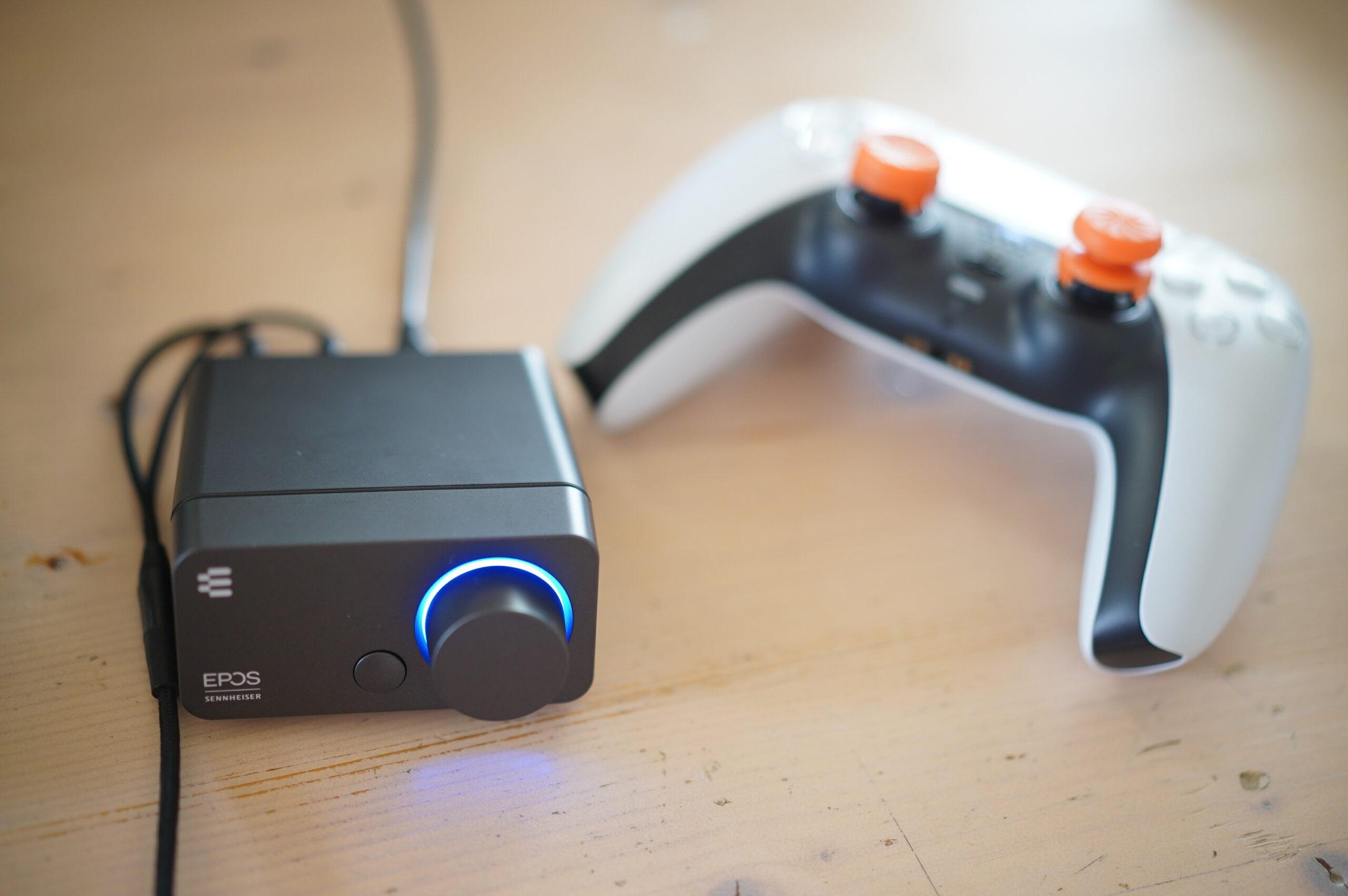 EPOS  GSX300レビュー PS5で使えるオーディオインターフェース